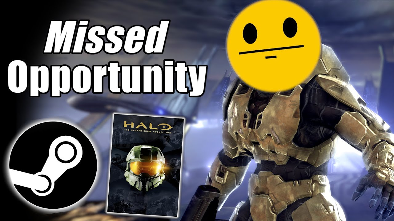 Halo MCC On Steam: A Missed Opportunity