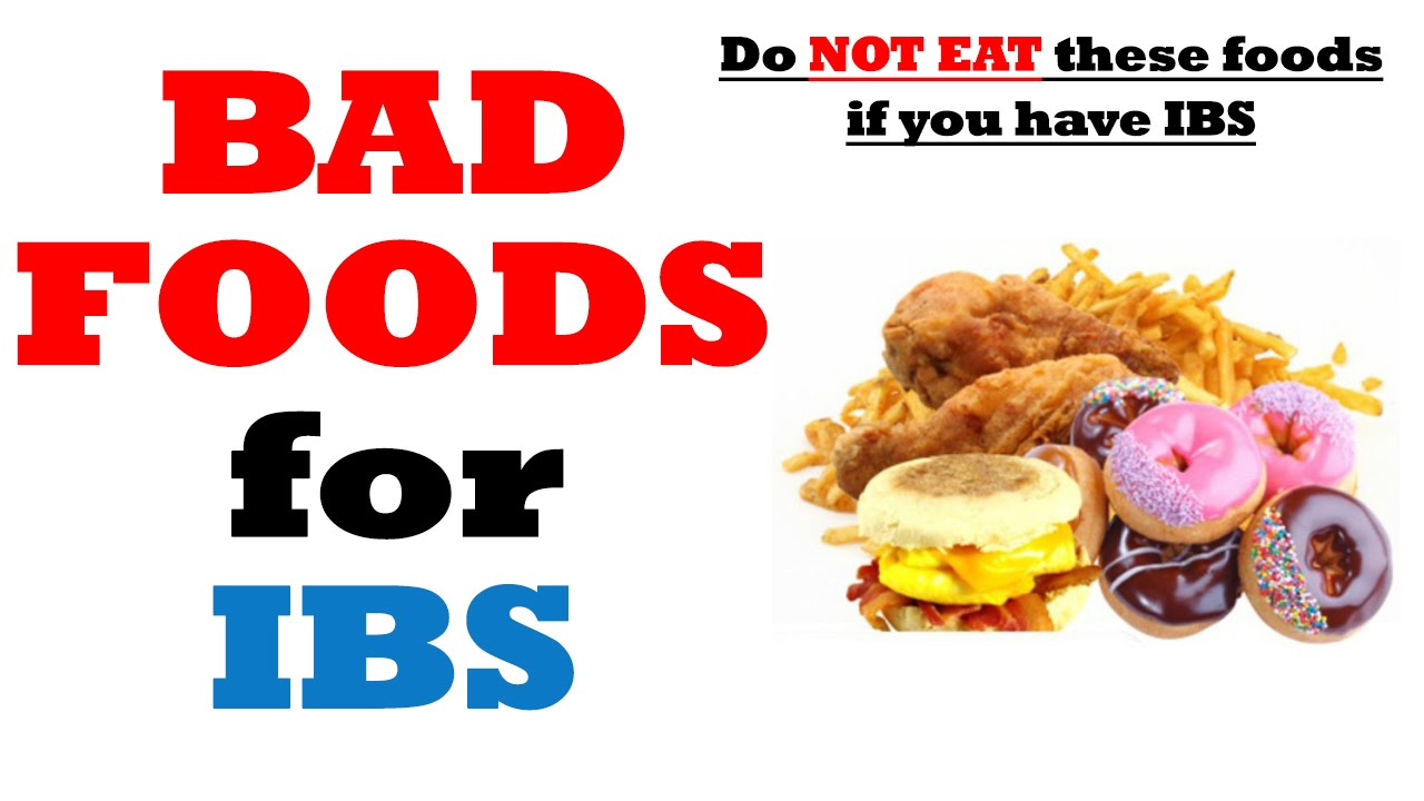Ibs List Of Foods To Avoid
