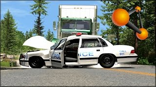 BeamNG Drive Random Vehicle #31 Crash Testing #142