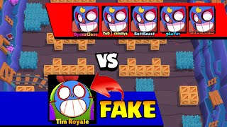 REAL VS FAKE | Top 50 Funniest Fails in Brawl Stars (Part 8)