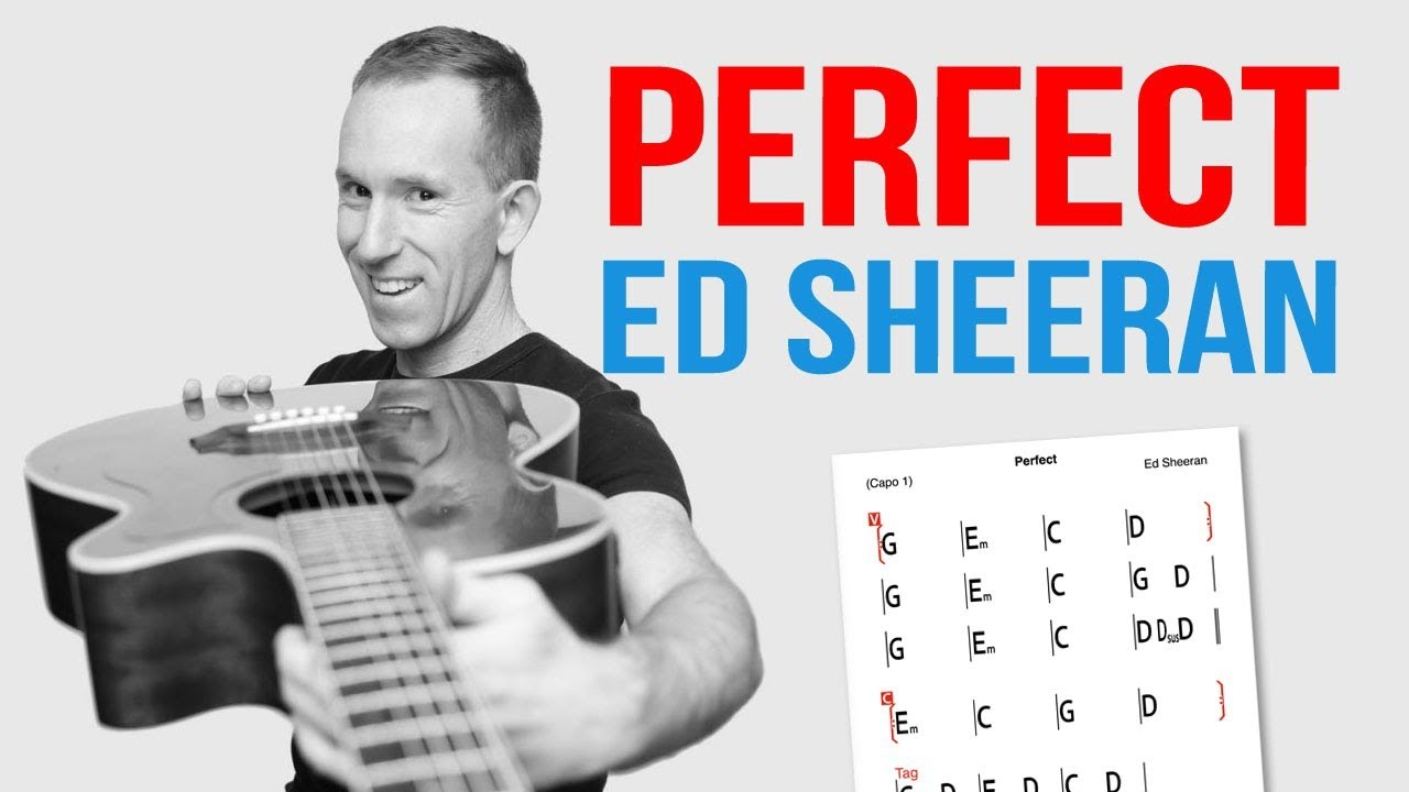 Perfect ☆ Ed Sheeran ☆ Guitar Lesson - Easy How To Play Acoustic ...