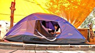 Спустя полгода после землетрясения в Мехико люди ютятся в палатках