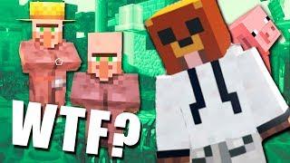 Estos aldeanos traman algo | Minecraft #6