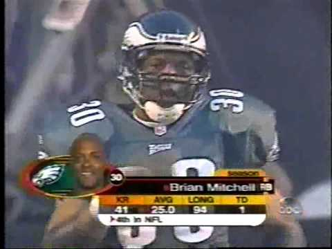 2001 NFC Wildcard Tampa Bay at Philadelphia clip1