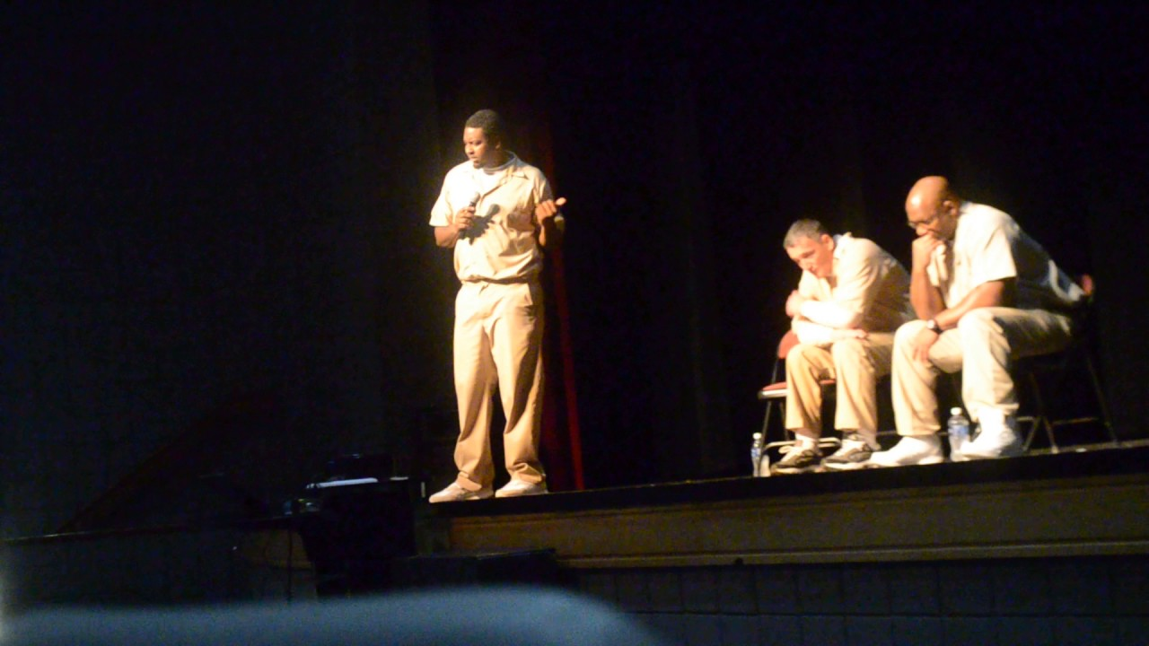 Pruntytown Correctional Center Inmates Talk to Students of