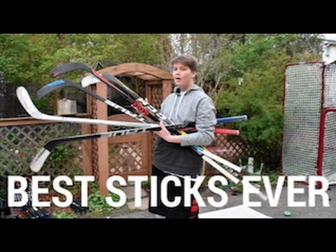TOP 5 HOCKEY STICKS OF ALL TIME!!