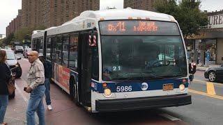 MTA NYC Bus 2012 NovaBus LFSA #5986 Bx41