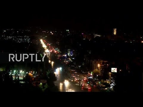LIVE of Jobar area in Damascus as deal on safe zones comes i