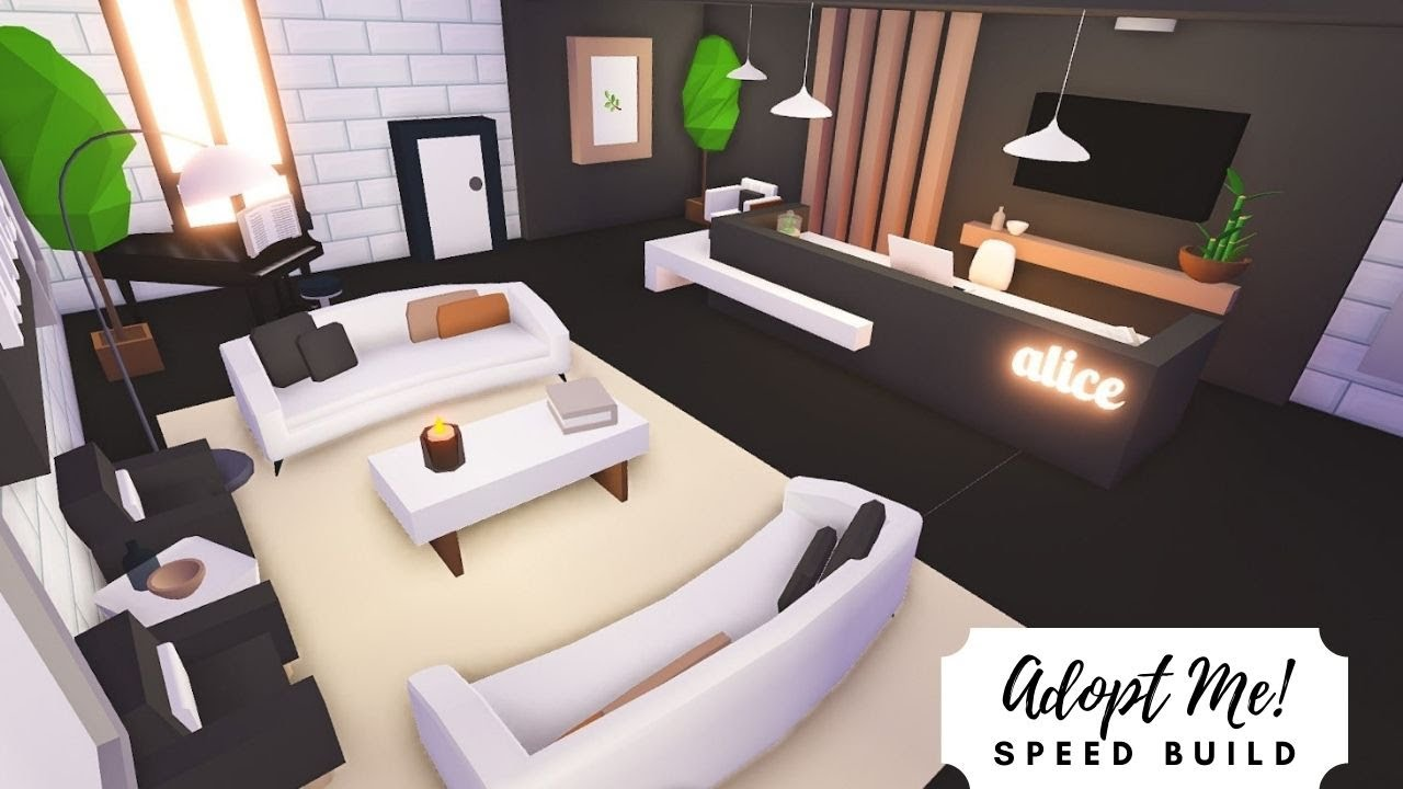 Luxury Apartment Lobby Speed Build Roblox Adopt Me Youtube Luxury Apartments Cool House Designs My Home Design