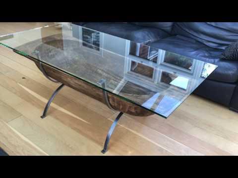 Antique Dough Bin Coffee Table - Luxury Handcrafted Furniture by Charles Elliott - Elliott of London