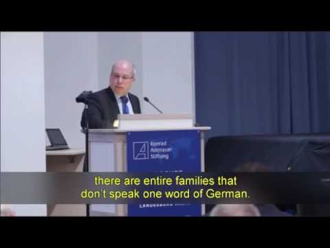 Chairman Of The German Police Union Explains Failed Muslim Integration