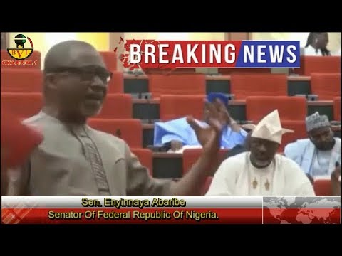 Breaking News!!! Senate On Fire As Abaribe Declares Buhari Incompetent.