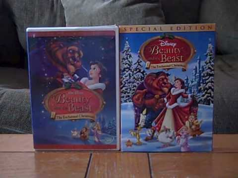 2 Different DVD Versions of Beauty and the Beast: The Enchanted ...