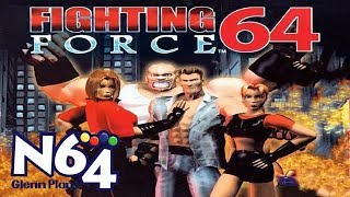 Fighting Force 64 - Nintendo 64 Review - HD