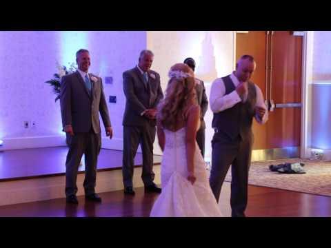 Surprise Crazy First Wedding Dance - Crowd Goes Wild - MUST WATCH - @MrJameZtown Wedding