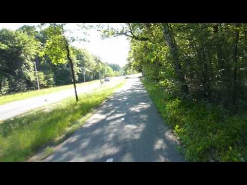 Bicycle trip: Soest Hilversum de Bilt: N415 Baarn to Hoge Vuurseweg