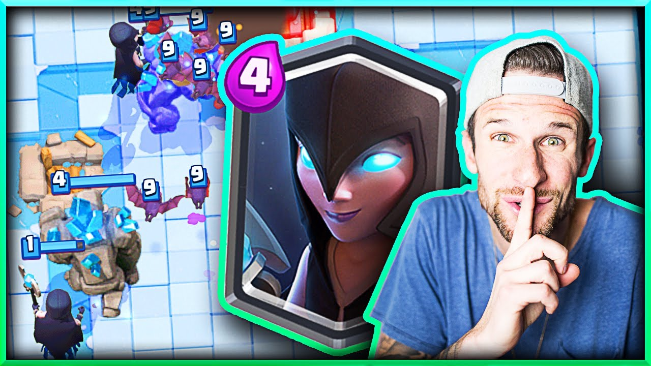 Best night witch deck clash royale youtube for Clash royale deck molosse