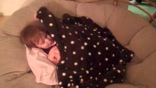 Lily Lynette Furneaux Saying Goodnight To Her Baby Doll [HD]
