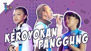 Download Video The Baldys - Keroyokan Panggung Mama Nola, Kak Naura, Neona!! MP3 3GP MP4