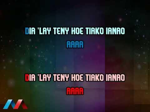 JOY K ft  NAMPOINA Silaka fanahy Karaoke