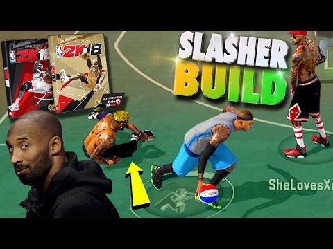 NBA 2K18 $150? & NEW Slasher Build - NBA 2K17 MyPark 3v3