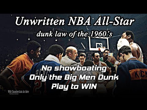 NBA All-Star Game dunks of the 1960