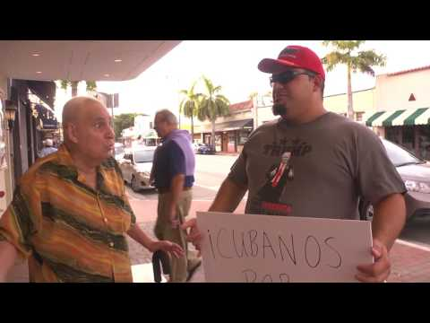 Cuban Interviews on the Streets of Miami