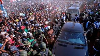 See How Plateau State Residents Madly Surprise President Buhari on his Presidential Campaign Visit