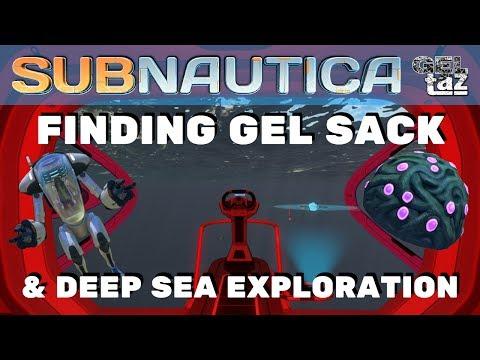 Subnautica Gel Sack and Deep Sea Exploration