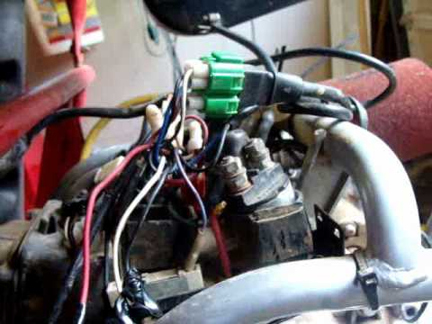 110cc Go Kart Wiring Diagram Yerf Dog Spiderbox Gx150 Youtube