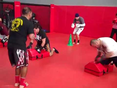 Training at Fresno Kickboxing Academy