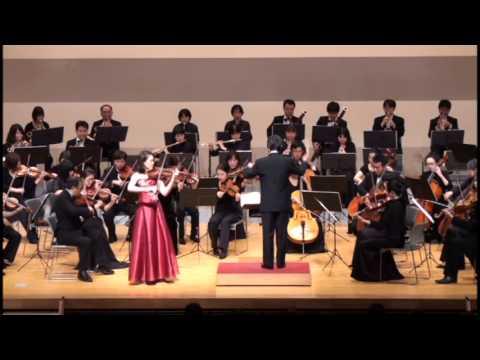 チャイコフスキー ヴァイオリン協奏曲二長調 op.35:三原室内管弦楽団 第31回 定期演奏会.