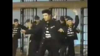 Elvis Presley Jailhouse Rock 1957 colour