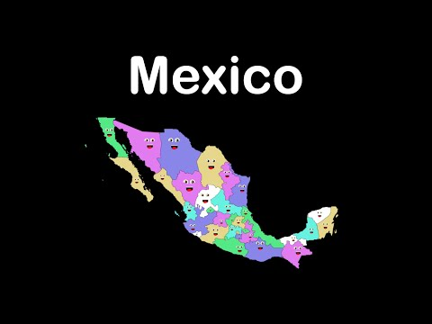 Mexico States Song/Mexico States and Capitals