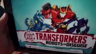 Скануємо трансформерів з мультфільму: ''Трансформери. Роботи під прикриттям'' і граємо в гру