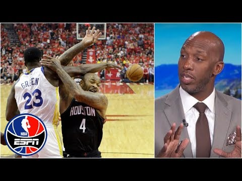 Warriors vs Rockets WCF 'would be another 7-game series' - Chauncey Billups | NBA Countdown