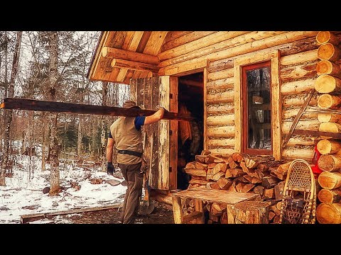 Building a Rustic Log Cabin: Wood Plank Flooring and the Cost of Early Retirement