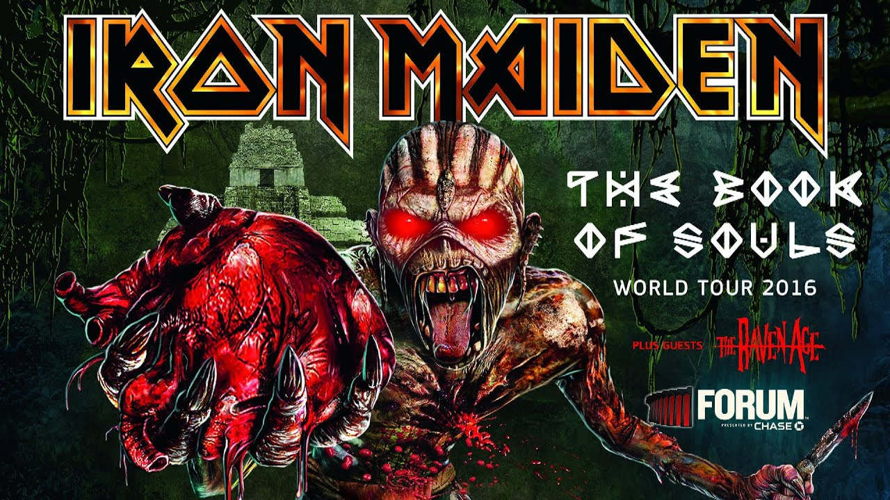 Iron Maiden The Book Of Souls Live At The Forum Los Angeles