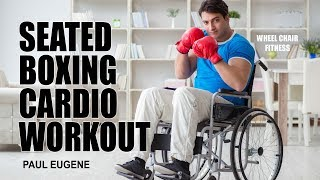 Seated Boxing Cardio Workout - For People with Limited Mobility | Sit and Get Fit!
