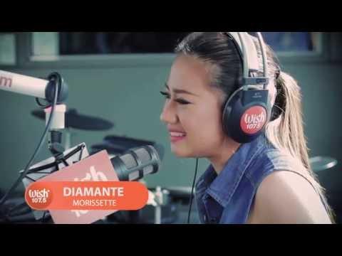 Morissette sings
