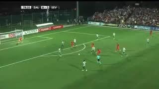 Zalgiris 0 - 4 Sevilla Europa League - Gol de Arana
