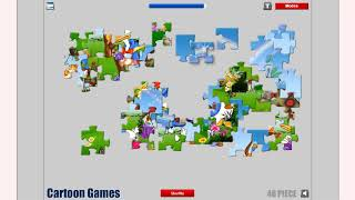 How to play Donald Duck Jigsaw game | Free online games | MantiGames.com