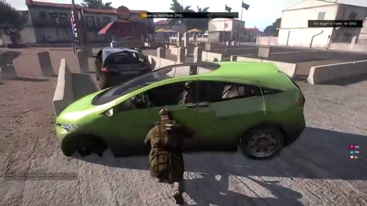 How To Repair Car Arma