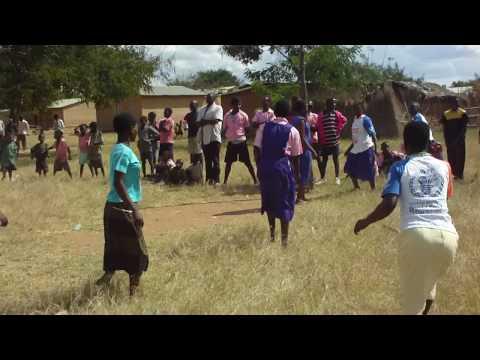 Malawi Girls Net Ball Game