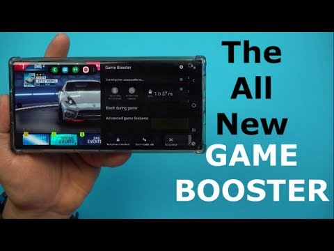 Samsung's All New GAME BOOSTER - Whole New Level Of Gaming