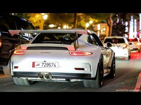 Porsche 991 GT3 RS w/ Akrapovic Exhaust driving in Monaco !