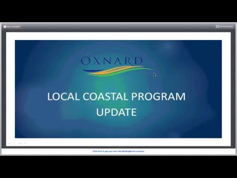 Oxnard LCP Stakeholder Kickoff Meeting (Part 1) Feb 2016
