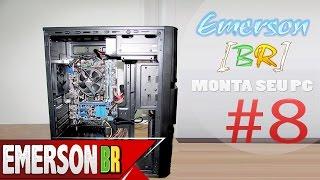 emersonBR Monta Seu PC #8 - PC do Henrique - Zalman ZM-T3 (ATX Mini Torre)