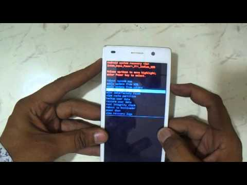 Intex Aqua Power Plus Eazy Pattern Reset And Hard Reset Youtube