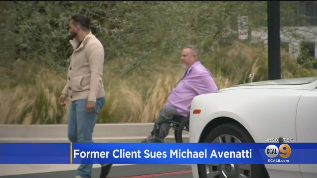 Paraplegic Man Sues Michael Avenatti For Allegedly Embezzling $4M Settlement